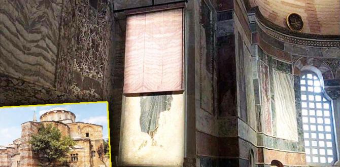 75 yıl sonra ilk namaz… Kariye'nin mozaikleri perdelendi