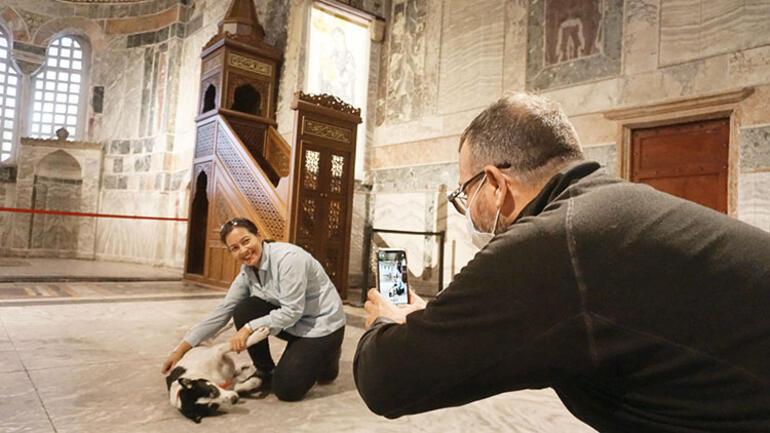75 yıl sonra ilk namaz... Kariye'nin mozaikleri perdelendi
