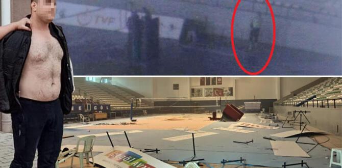 Bursa'da şoke eden anlar! Eski halterci spor salonunu talan etti…
