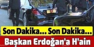Cumhurbaşkanı Recep Tayyip Erdoğan'ın Evinin Etrafında Yakalandı