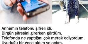 TELEFON ŞİFRESİNİ ÖĞRENİNCE